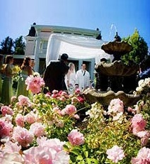 Wedding ceremony at Napa Valley