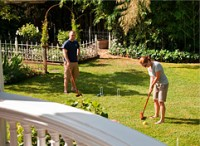 Play croquet at Churchill Manor, a Napa Valley inn.