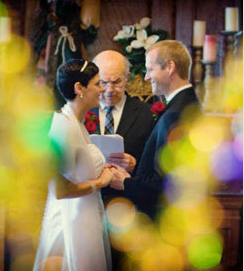 An intimate Napa Valley elopement ceremony at Churchill Mansion