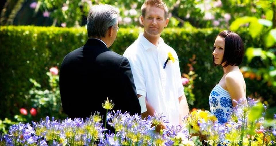 Napa Elopement Ceremony at Churchill Manor