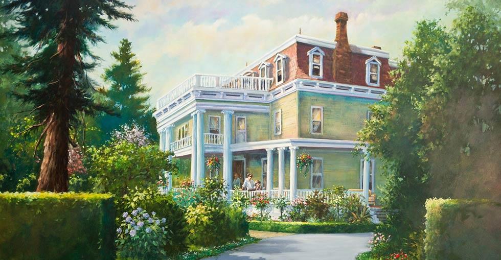 Churchill Manor and the Napa County Historical Society