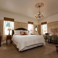 Inside the Atlas Peak Room at Churchill Manor