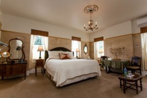 Inside the Atlas Peak Room at Churchill Manor