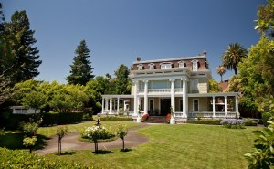 Churchill Manor B&B is a great place to stay during the Napa Film Festival
