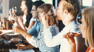 Enjoy a wine tasting at Capp Heritage