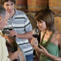 Winery Tasting at Napa Valley Wine Auction