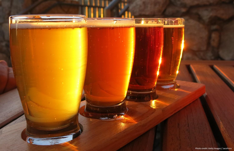 Enjoy a tasting at Mad Fritz Beer