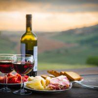 Sample freshly pressed olive oil, seasonal bites, and delicious wine at Round Pond Estate.