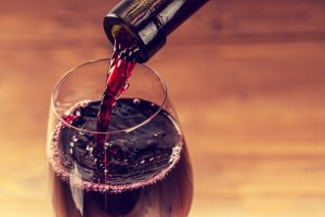 Enjoy a glass of Cabernet Sauvignon at Chimney Rock Winery
