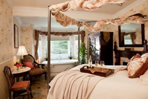 After you learn about growing grapes for wine, relax and unwind in our Carneros room.